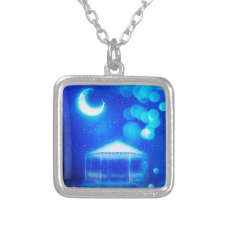 Fantasy Winter Alcove Silver Plated Necklace
