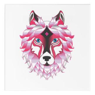 Fantasy Wolf Acrylic Wall Art