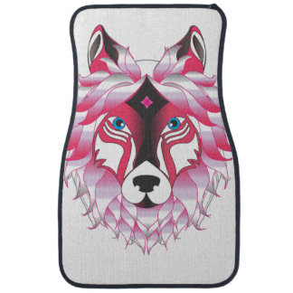 Fantasy Wolf Animal Car Mat