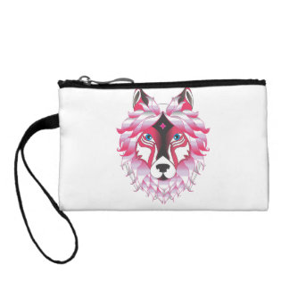 Fantasy Wolf Animal Coin Purse