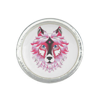Fantasy Wolf Animal Ring