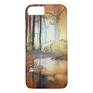 Fantasy Wolf forest iPhone 8/7 phone case