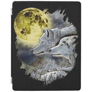 Fantasy Wolf Moon Mountain iPad Smart Cover