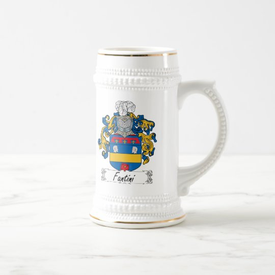 Fantini Family Crest Beer Stein