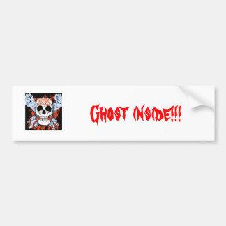 Fantôme à l'intérieur ! ! ! autocollant de voiture