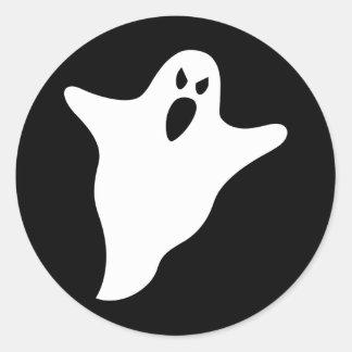 Fantôme Autocollants Ronds