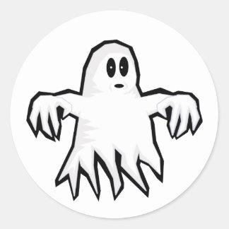 Fantôme Sticker Rond