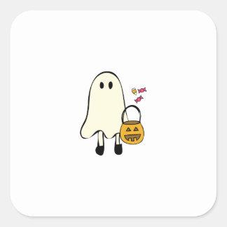 Fantôme de Halloween Autocollant