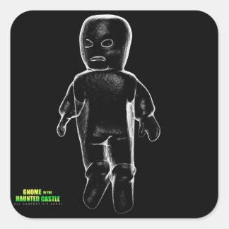 Fantôme de Polter Stickers Carrés