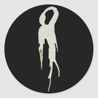 fantôme maigre adhésifs ronds