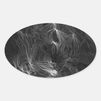 Fantôme Sticker Ovale