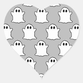 Fantômes Autocollant En Cœur