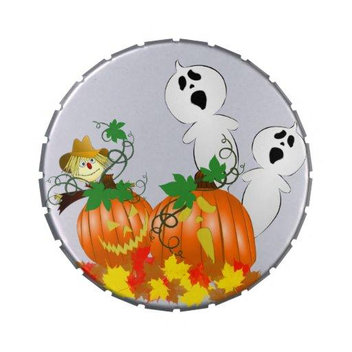Fantômes drôles de Halloween Boites De Bonbons Jelly Belly