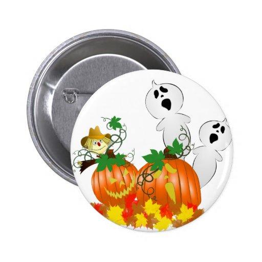 Fantômes drôles de Halloween Pin's