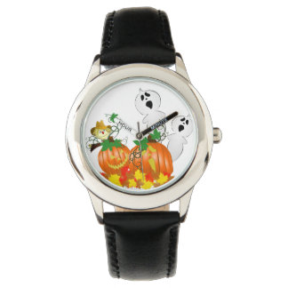Fantômes drôles de Halloween Montres Bracelet