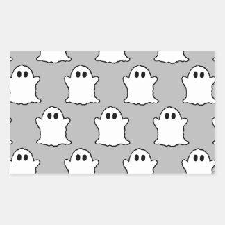 Fantômes Sticker Rectangulaire