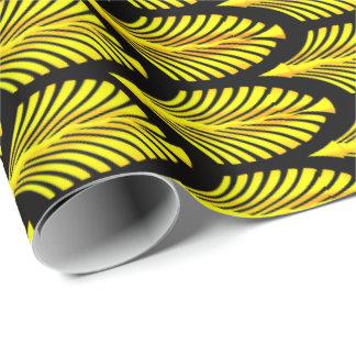 Fantuzzi Yellow Wrapping Paper