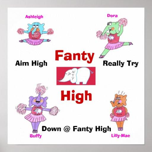 Fanty High School Posters