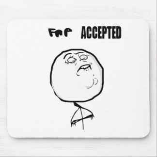 fap accepted mouse pad
