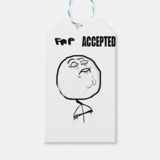 fap accepted pack of gift tags