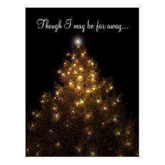 Far Away Christmas Postcard