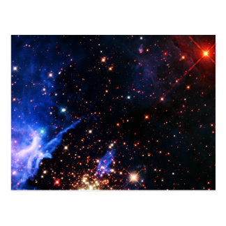 Far Away Galaxy Postcard