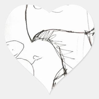 Far Beyond Driven Heart Sticker