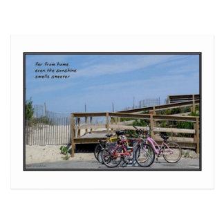 Far From Home Haiku Postcard