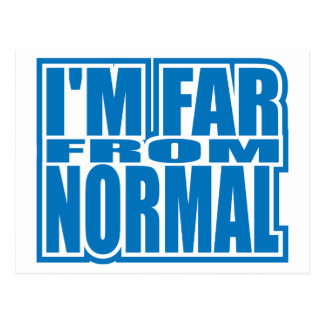 Far from Normal Postcards