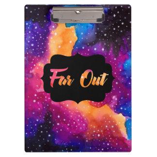 Far Out Cosmic Sky Clipboard