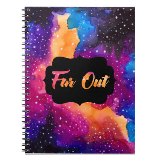 Far Out Cosmic Sky Notebook