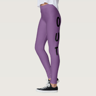 FAR OUT Purple Leggings