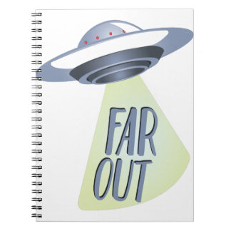 Far Out Spiral Note Book