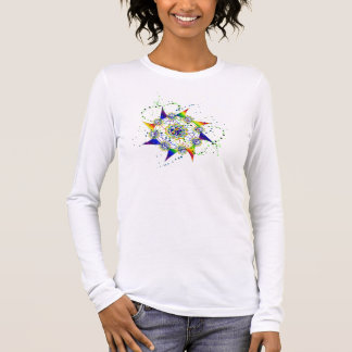 Far Out StarZ ~ Rainbow Swirl Long Sleeve T-Shirt