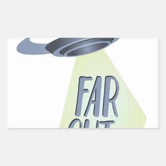 Far Out Sticker