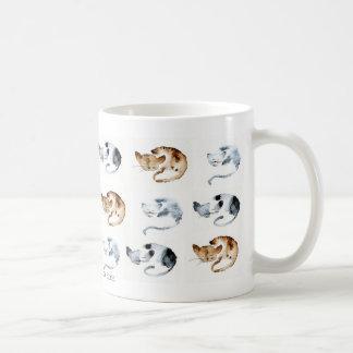 Farandole of chaquarelles door frames coffee mug