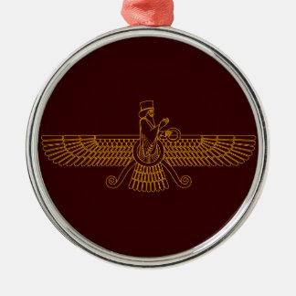 Faravahar Metal Ornament
