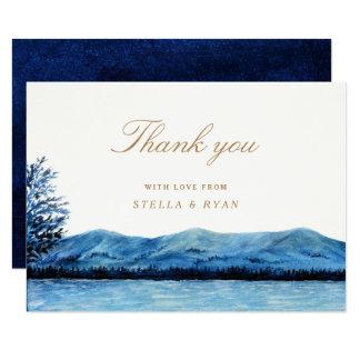 "Faraway / Thank You Card 3.5"" X 5"" Invitation Card"