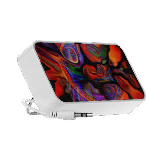 Farbenrausch - Beautiful colors and shapes Notebook Speakers