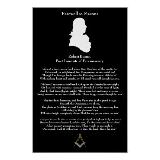 Farewell to Masons Poster