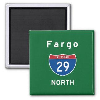 Fargo 29 square magnet