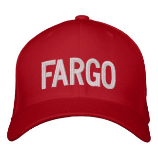 Fargo Embroidered Baseball Caps