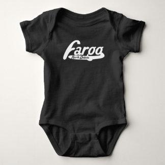 Fargo North Dakota Vintage Logo Baby Bodysuit