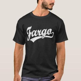 Fargo script logo in white T-Shirt