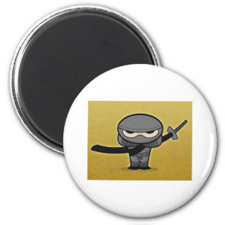 Farkin' Ninja 2 Inch Round Magnet