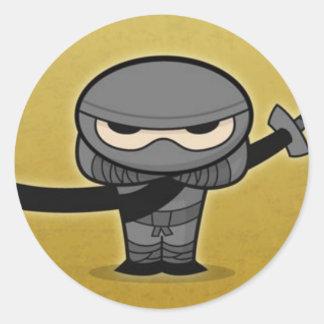 Farkin' Ninja Classic Round Sticker