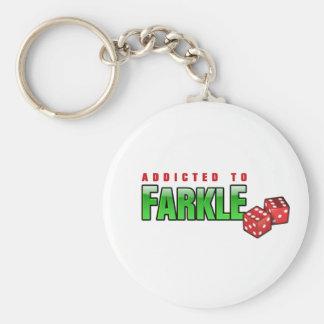 FARKLE - addicted Keychain