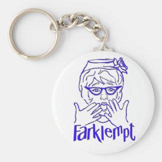 Farklempt Keychain