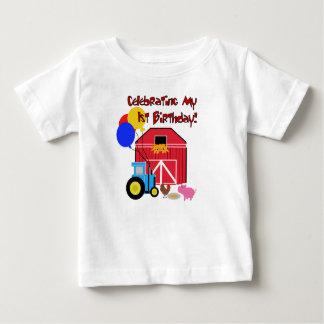 Farm 1st Birthday Baby T-Shirt