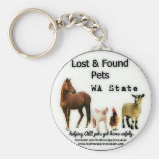 Farm Animal Keychain